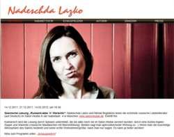 Nadeschda-Lazko-Website